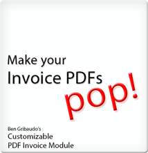 Customizable PDF  Invoice Module for Magento Logo