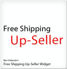 Free Shipping Up-Seller Widget for Magento Logo
