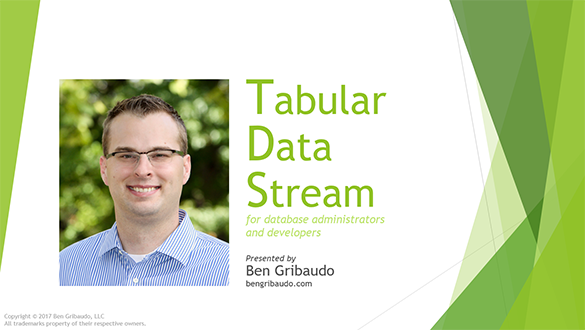 Tabular Data Stream Presentation Thumbnail